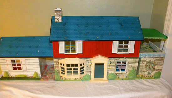 ranch dressing with eartha kitsch: a marx dollhouse.with an extra